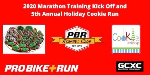 Pro Bike + Run 2020 Marathon Training Kick Off and Holiday Cookie Run