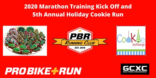 Pro Bike + Run 2020 Marathon Training Kick Off and Holiday Cookie Run