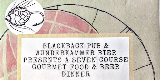 Wunderkammer Gourmet Beer Pairing Dinner  $85/Pers