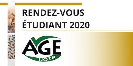 Rendez-Vous Étudiant 2020 billets