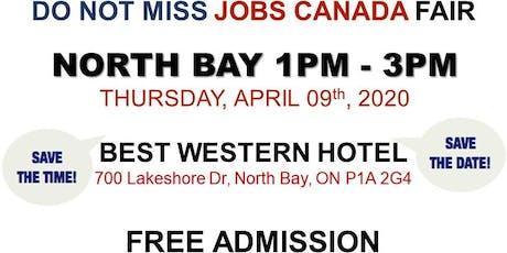North Bay Job Fair – April 09th, 2020 tickets