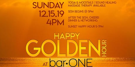 Happy Golden Hour: Sunset Yoga at Bar One tickets