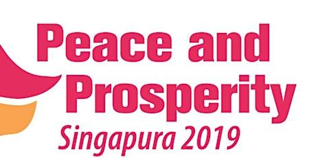 Peace and Prosperity Volunteer registration tickets