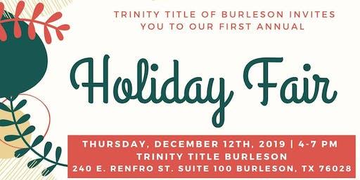 Holiday Fair at Trinity Title Burleson