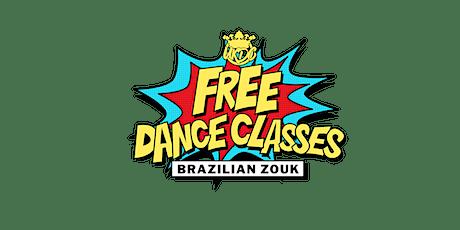 Free January Dance Classes - Brazilian Zouk  tickets