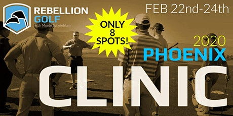Rebellion Golf Clinic with Monte Scheinblum tickets