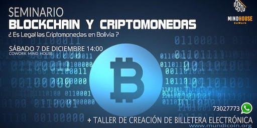 Seminario - Taller Blockchain y Criptomonedas en Bolivia