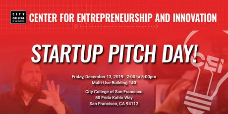 Startup Pitch Day! tickets