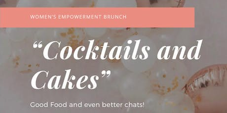 Cocktails and Cakes tickets