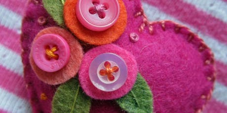 Heartfelt Brooch Workshop tickets