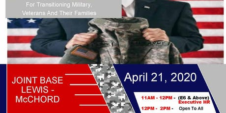 Joint Base Lewis McChord - Transition Expo (Hiring Event and Franchise Expo) tickets