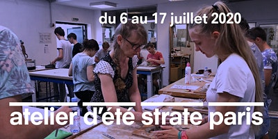 LATELIER DÉTÉ À STRATE ECOLE DE DESIGN PARIS