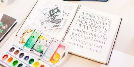 SSLetters Hand Lettering Doodle Session: Card Making Party tickets