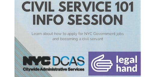 Civil Service 101 Information Session