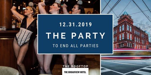 NYE Rooftop Party at The Broadview Hotel