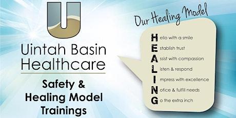 UBH Safety & Healing Model Training tickets