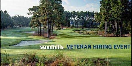 Sandhills Veteran Hiring Event tickets
