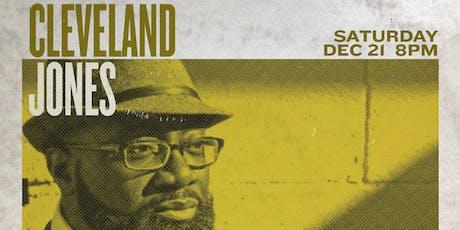 Cleveland Jones tickets