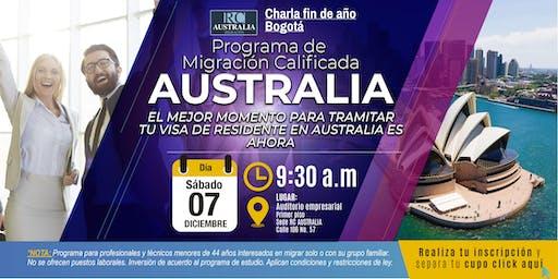 Conferencia fin de año: Programa de migración para Australia - Bogotá
