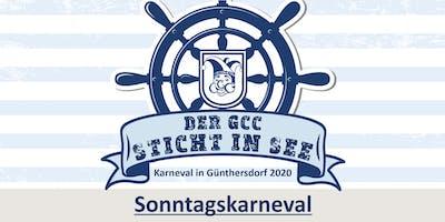 DER GCC STICHT IN SEE - Sonntagskarneval