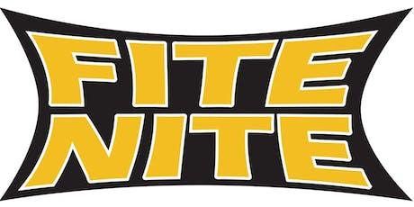 FITE NITE - 60th Annual  tickets