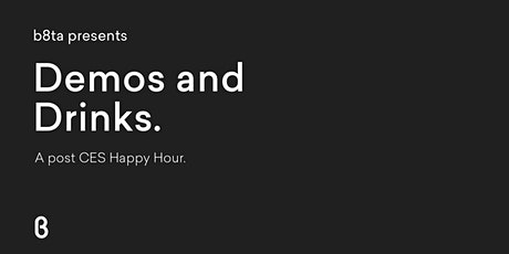 b8ta Happy Hour at CES 2020—Tuesday tickets