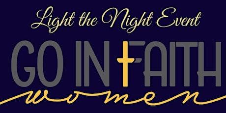 GO In Faith Women- Light The Night Event tickets
