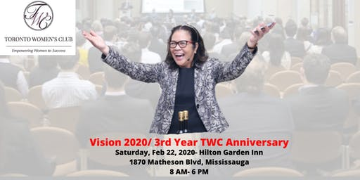 Vision 2020/  3rd Year TWC Anniversary