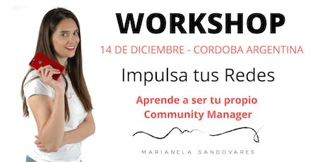 Workshop Impulsa tus Redes Sociales entradas