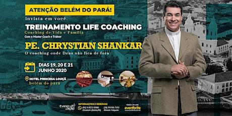 Life Coaching com Pe Chrystian Shankar ingressos