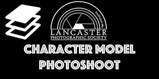 Character photoshoot