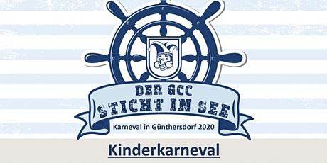 DER GCC STICHT IN SEE - Kinderkarneval - KIND Tickets