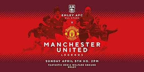 Emley AFC All Stars v MANCHESTER UNITED LEGENDS tickets