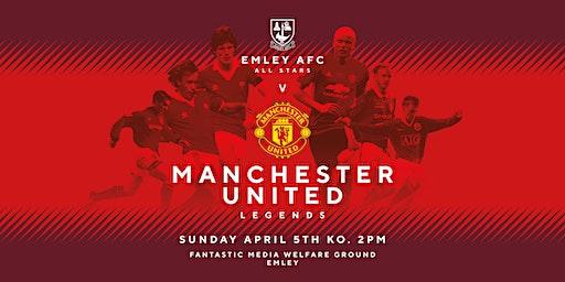 Emley AFC All Stars v MANCHESTER UNITED LEGENDS