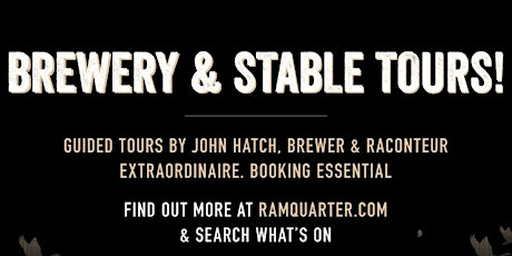 Brewery and Stable Tours tickets