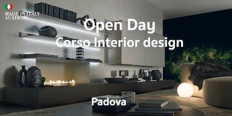 Open Day Interior Design Padova biglietti