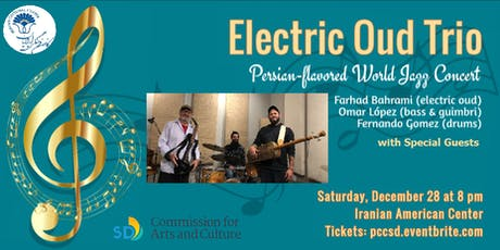 The Electric Oud Trio Concert (Persian-Flavored World Jazz) tickets