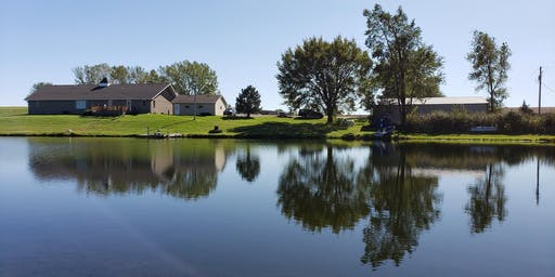Real Estate Auction: Brick Ranch Home on 9.28 Acres overlooking 4 Ac Lake