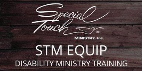 STM EQUIP Disability Ministry Training tickets