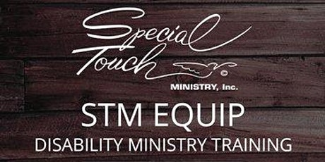 STM EQUIP Disability Ministry Training billets