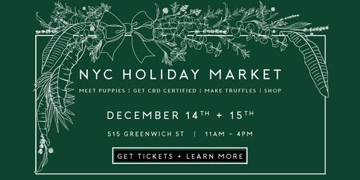White Label CBD Market - 2019 Holiday Market