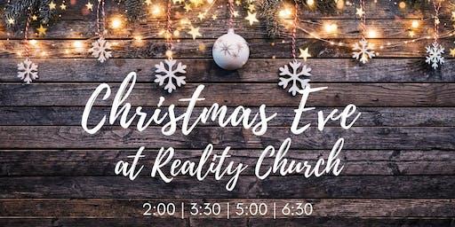 Christmas Eve at Reality!
