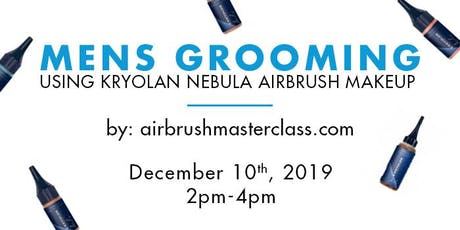 Airbrush Class - Mens Grooming tickets