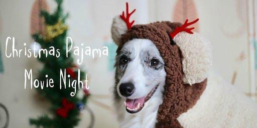 Christmas Pajama Movie Night