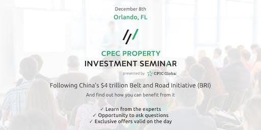 Philadelphia: CPEC PROPERTY INVESTMENT SEMINAR - 12th Dec 2019