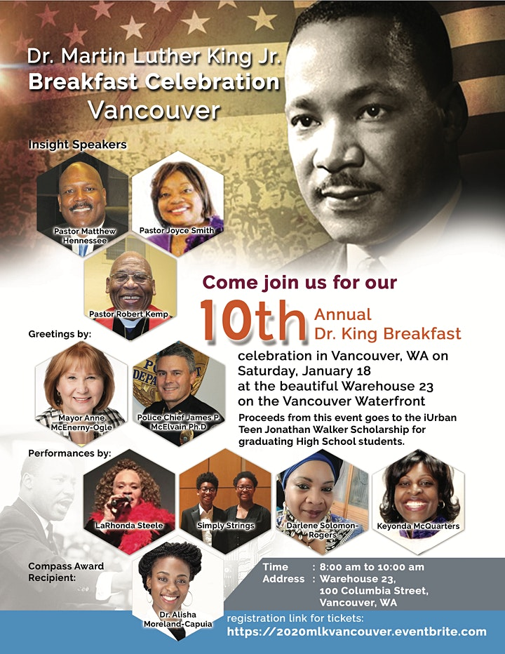 10th Annual Dr. Martin Luther King Breakfast Celebration image