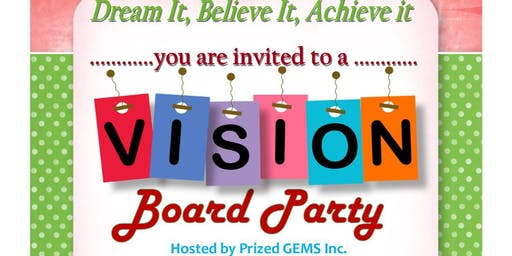 GEMS 2020 Vision Board Party