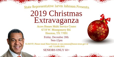 Representative Jarvis Johnson Presents: A Christmas Extravaganza! tickets