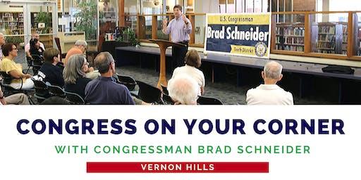 Congress On Your Corner: Vernon Hills
