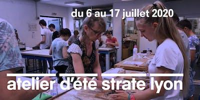 L'ATELIER D'ÉTÉ À STRATE ECOLE DE DESIGN LYON - 2 SEMAINES À MI-JUILLET 2020
